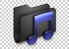 角度显示设备多媒体字体,音乐黑色文件夹,紫色音乐笔记PNG剪贴画