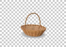 复活节篮子,空的复活节篮子HD PNG剪贴画3D计算机图形学,图像文件图片