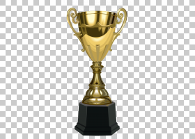 奖杯奖,杯奖杯,金色和黑色奖杯PNG剪贴画奖章,封装的PostScript,图片