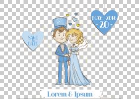 婚礼邀请新郎,婚礼材料PNG剪贴画爱,蓝色,结婚周年,假期,文本,婚