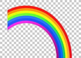 彩虹ROYGBIV颜色,彩虹,彩虹PNG剪贴画儿童,封装的PostScript,彩虹图片