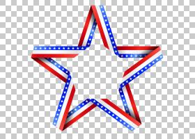 独立日美国国旗,美国星级装饰,红色,白色和蓝色星PNG剪贴画蓝色,