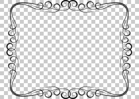 边框和框架框架装饰装饰艺术,设计PNG剪贴画白色,文本,矩形,单色,