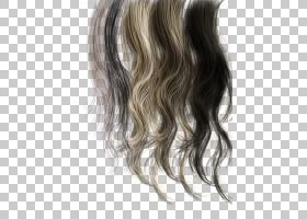 发型黑人纹理的头发美发师,各种颜色的头发PNG剪贴画颜色飞溅,棕图片