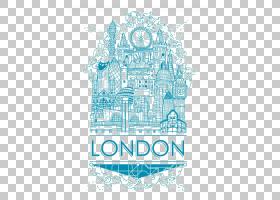 大本钟海报伦敦艺术,伦敦PNG剪贴画蓝色,愿望,画,文本,简单,手,徽图片
