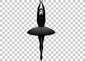 芭蕾舞者芭蕾舞者,芭蕾舞PNG剪贴画单色,生日快乐矢量图像,剪影,d图片