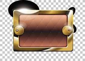 按钮金属,按钮游戏PNG剪贴画游戏,棕色,标签,矩形,生日快乐矢量图图片