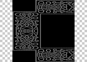 阿拉伯装饰框架,其他PNG剪贴画杂项,矩形,其他,对称性,单色,黑色,