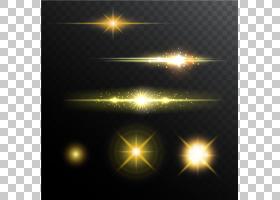 舞台灯光晕,闪耀灯光效果,黄色火花PNG剪贴画蓝色,路灯,电脑壁纸,图片