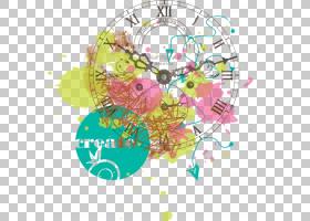 涂鸦时钟,时钟涂鸦PNG剪贴画文本,数字时钟,贴纸,时间,涂鸦边框,d图片