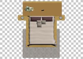 卧室,床PNG剪贴画模板,角度,家具,室内设计,矩形,纺织,床,室内设图片