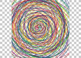 线,凌乱的线条PNG剪贴画螺旋,对称,圆圈,颜色,抽象线条,线条,封装