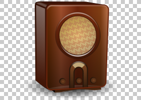 收音机古董收音机的黄金时代,Vintage Radio的PNG剪贴画clipartRa