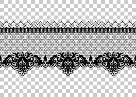 蕾丝,透明蕾丝装饰PNG剪贴画角度,文本,剪贴画,纺织,对称,单色,颜图片