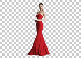 连衣裙红色礼服服装女人,连衣裙PNG剪贴画时尚,女孩,女人,时尚模图片