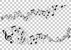 音符高清电视,音乐笔记PNG剪贴画角度,文本,单色,骰子,材料,分辨