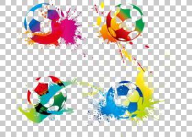 足球运动员体育,足球PNG剪贴画电脑壁纸,颜色,生日快乐矢量图像,图片
