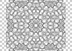 伊斯兰几何图案伊斯兰建筑伊斯兰艺术图案,几何图案PNG剪贴画对称