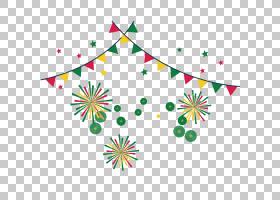 斋月贺卡开斋节开斋节穆巴拉克,空腹贺卡,绿色,红色和黄色PNG剪贴