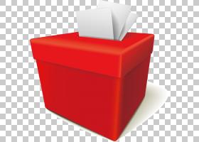 投票箱投票,红色投票箱PNG剪贴画杂项,角度,家具,矩形,礼品盒,封