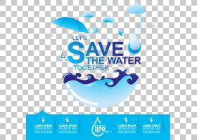 水效海报水资源保护,水资源环境保护数据表PNG剪贴画蓝色,文本,标