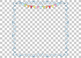 生日蛋糕婚礼邀请,Happy BirthdayFrame,多彩多姿的横幅PNG剪贴画图片