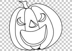 糖果南瓜万圣节杰克-o-灯笼,Pumpking黑色的PNG剪贴画白色,文本,