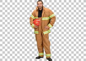 消防队员万圣节服装地堡齿轮制服,消防员PNG剪贴画拉链,万圣节服