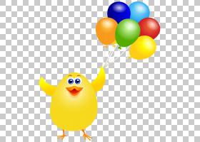 白宫鸡肉三明治气球炸鸡,复活节鸡与气球PNG剪贴画剪贴画,鸡,笑脸