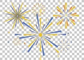 欧几里德烟花,丰富多彩的节日烟花PNG剪贴画白色,颜色飞溅,假期,
