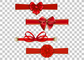 丝带插图,弓PNG剪贴画功能区,摄影,节日元素,彩带,插画,弓,封装Po