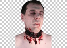 伤口万圣节恐怖杰森Voorhees脸,伤口PNG剪贴画脸,人,头,特效,唇,