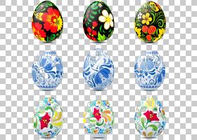 俄罗斯复活节彩蛋蛋装饰,鸡蛋PNG剪贴画破蛋,球,复活节彩蛋,生鸡