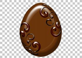 复活节兔子巧克力复活节彩蛋,巧克力复活节彩蛋PNG剪贴画食品,假