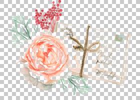 复活节兔子纸,花PNG剪贴画墨水,插花,人造花,贴纸,花卉,绘画,玫瑰