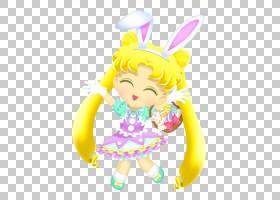 复活节兔子美少女战士兔子小说,水手月亮PNG剪贴画摄影,婴儿玩具,