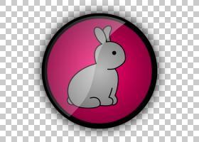 复活节兔子计算机图标,淡紫色PNG剪贴画杂项,其他,免版税,洋红色,