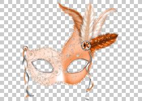 威尼斯狂欢节狂欢节在新奥尔良面具,狂欢节化妆舞会PNG剪贴画假期