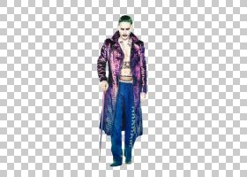 小丑哈利奎因蝙蝠侠服装电影,小丑PNG剪贴画紫色,英雄,万圣节服装