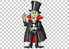 吸血鬼万圣节,闹鬼的吸血鬼,吸血鬼插图PNG剪贴画万圣节快乐,卡通