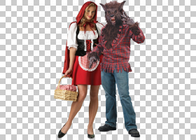 小红帽万圣节服装服装服装派对,万圣节PNG剪贴画假期,万圣节服装,