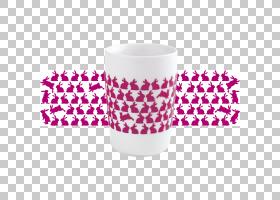 咖啡杯袖子马克杯复活节兔子,马克杯PNG剪贴画紫色,咖啡,洋红色,