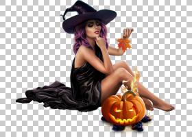 巫婆南瓜万圣节,巫婆PNG剪贴画女人,南瓜,巫术,女巫,吸血鬼,教程,