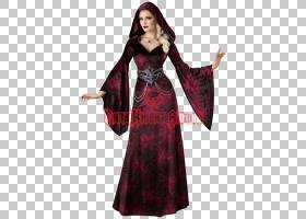 Melisandre Robe万圣节服装礼服,连衣裙PNG剪贴画紫色,万圣节服装