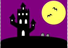 万圣节幽灵内容,万圣节邀请的PNG剪贴画紫色,紫罗兰色,文本,电脑