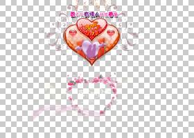 Heart Love情人节Em,情人节PNG剪贴画爱,文本,心,节日元素,情人节