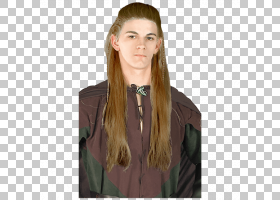Legolas Frodo Baggins指环王:环形假发的团契,霍比特人PNG剪贴