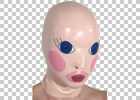 万圣节服装Mask Doll Ben Cooper,Inc。,吹PNG剪贴画脸,万圣节服