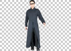 Neo The Matrix Trinity Morpheus服装,羊毛PNG剪贴画杂项,万圣节