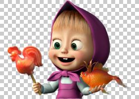 玛莎和熊桌面动画,呸PNG剪贴画儿童,幼儿,卡通,虚构人物,娃娃,手图片